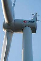 GERMANY Hamburg, wind turbine Siemens SWT-3.0-113 of Municipal energy supplier Hamburg Energie at Trimet company area