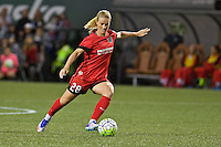Portland, Oregon - Sunday September 11, 2016: Portland Thorns FC midfielder Amandine Henry (28) during a regular season National Women's Soccer League (NWSL) match at Providence Park.