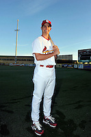Mar 01, 2010; Jupiter, FL, USA; St. Louis Cardinals catcher Robert Stock (86) during  photoday at Roger Dean Stadium. Mandatory Credit: Tomasso De Rosa/ Four Seam Images