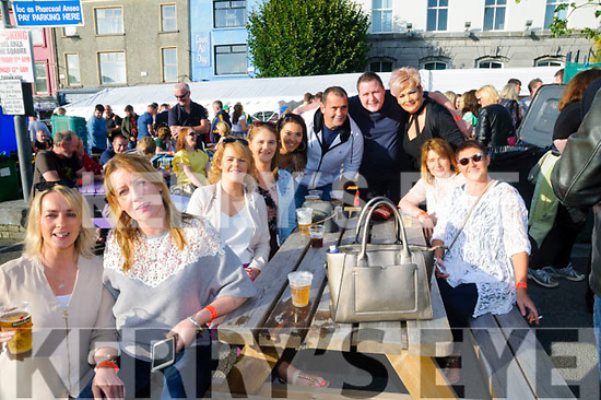 Revival Concert : Attending the Revival Concert in  the Square, Listowel on SAturday night last were Sharon Griffin , Karen Broderick, Jackie O'Connor, Maura Shanahan, Holly Doyle, Peter Lyons, Conor Walsh, Elaine Lyons, Breda Grimes & Anna Walsh