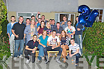 21ST: Jonathan Noonan of 29 Spa Road, Tralee who celebrated his 21st at his home with his family and friends on Saturday night. (jonathan is seated centre).