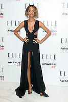 Jourdan Dunn arriving for the Elle Style Awards 2015, at The Sky Garden, London. 24/02/2015 Picture by: Alexandra Glen / Featureflash