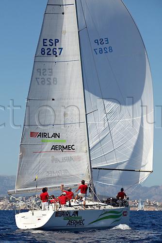 01.08.2013. Mallorca, Spain. GH MUMM ORC 1 Arilan Aermec in action during the 32nd Copa del Rey Mapfre Palma de Mallorca Day 4. Real Club Nautico Palma