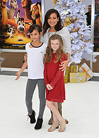 Constance Marie, Luna Marie Katich &amp; Guest at the world premiere for &quot;The Star&quot; at the Regency Village Theatre, Westwood. Los Angeles, USA 12 November  2017<br /> Picture: Paul Smith/Featureflash/SilverHub 0208 004 5359 sales@silverhubmedia.com