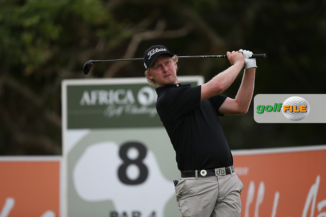 Justin Harding (RSA) drives the 8th during Round One of the Africa Open 2015 at the East London Golf Club, East London, Eastern Cape, South Africa. Picture:  David Lloyd / www.golffile.ie. 05/03/2015