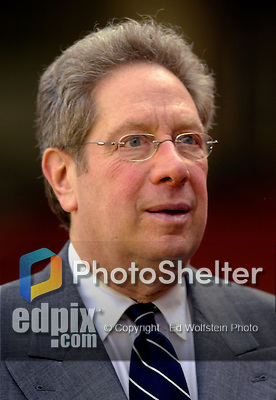 16 June 2006: John Sterling, broadcast voice of the New York Yankees, watches batting practice prior to a game against the Washington Nationals at RFK Stadium, in Washington, DC. The Yankees defeated the Nationals 7-5 in the first meeting of the two franchises...Mandatory Photo Credit: Ed Wolfstein Photo...