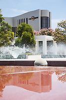Cerritos Library Plaza