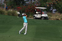 Wade Ormsby (AUS) in action on the 7th during Round 1 of the Hero Indian Open at the DLF Golf and Country Club on Thursday 8th March 2018.<br /> Picture:  Thos Caffrey / www.golffile.ie<br /> <br /> All photo usage must carry mandatory copyright credit (&copy; Golffile | Thos Caffrey)