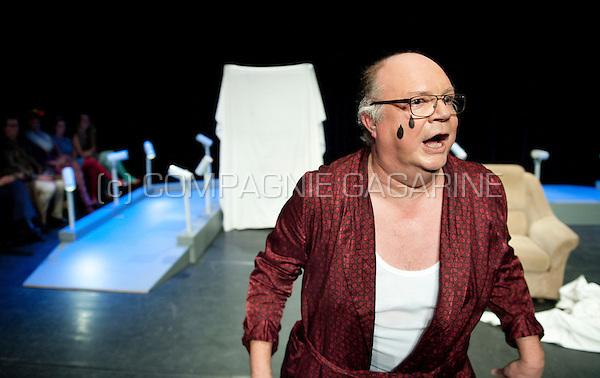 Theatre company de Dijlezonen playing De Vrek from Molière, directed by Gie Beullens (Belgium, 22/01/2015)