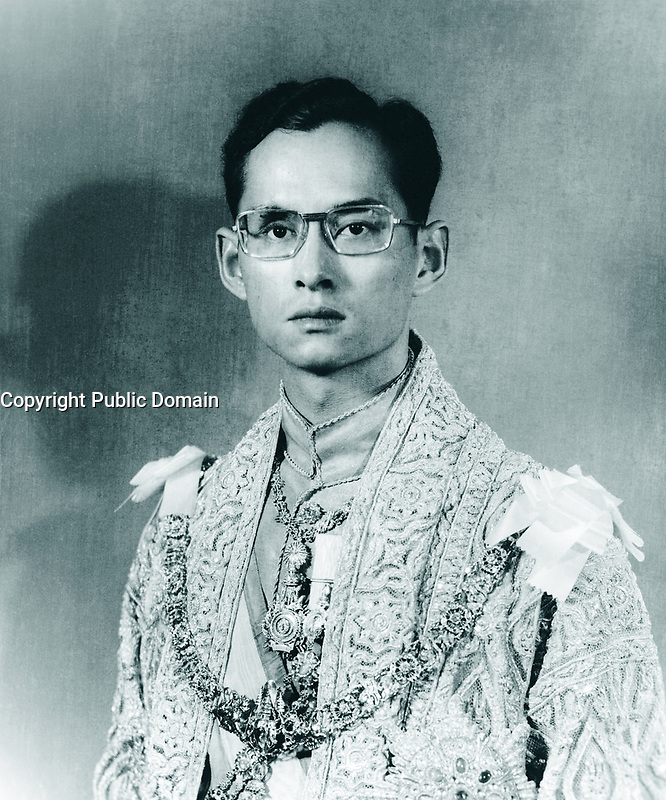 FILE PHOTO :   Thai king Bhumibol Adulyadej who passed away in 2016