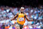 Engeland, London, 4 Augustus 2012.Olympische Spelen London.Finale 100 meter Mannen .Churandy Martina uit Nederland wordt zesde in de finale 100 meter voor mannen