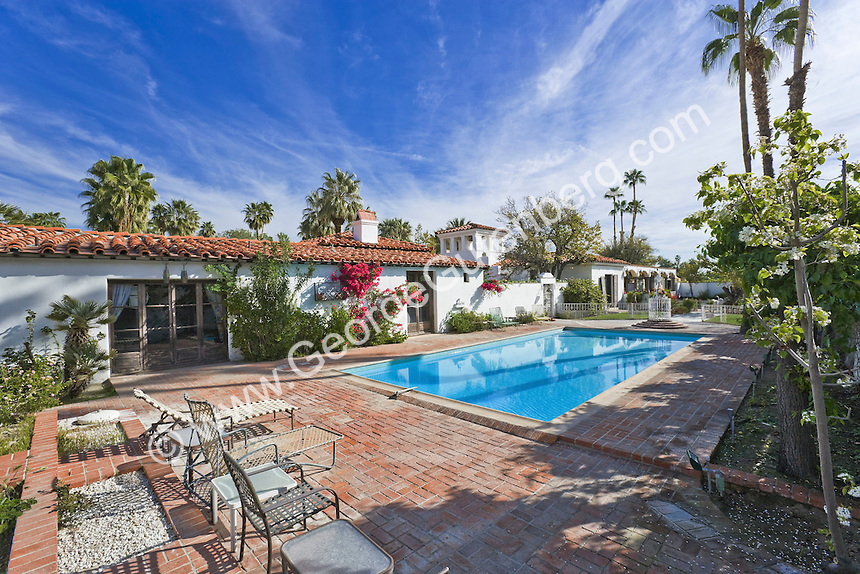 Stock Photo Of Liberaceu0027s Estate In Palm Springs