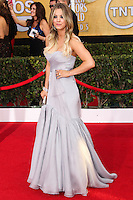LOS ANGELES, CA - JANUARY 18: Kaley Cuoco at the 20th Annual Screen Actors Guild Awards held at The Shrine Auditorium on January 18, 2014 in Los Angeles, California. (Photo by Xavier Collin/Celebrity Monitor)