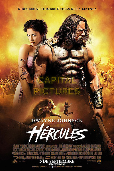 POSTER ART<br /> in Hercules (2014) <br /> *Filmstill - Editorial Use Only*<br /> CAP/NFS<br /> Image supplied by Capital Pictures