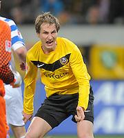 Fussball, 2. Bundesliga, Saison 2011/12, SG Dynamo Dresden - MSV Duisburg, Freitag (24.02.12), gluecksgas Stadion, Dresden. Dresdens David Solga.