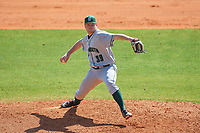 Dartmouth Big Green starting pitcher Alec Vaules (39) during a game against the Bradley Braves on March 21, 2019 at Chain of Lakes Stadium in Winter Haven, Florida.  Bradley defeated Dartmouth 6-3.  (Mike Janes/Four Seam Images)