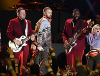 MINNEAPOLIS, MN - FEBRUARY 4: Justin Timberlake performs on the Pepsi Super Bowl Halftime Show at Super Bowl LII at  U.S. Bank Stadium on February 4, 2018 in Minneapolis, Minnesota. (Photo by Frank Micelotta/PictureGroup)