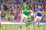 Donnchadh Walsh, Kerry in action against Donagh Leahy, Tipperary in the first round of the Munster Football Championship at Fitzgerald Stadium on Sunday.