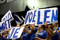 GRONINGEN - Volleybal , Lycurgus - Orion, finale playoff 5, seizoen 2018-2019, 12-5-2019,  spandoek