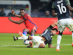 Germany's Emre Can tussles with England's Danny Welbeck during the International Friendly match at Olympiastadion.  Photo credit should read: David Klein/Sportimage