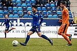 Waldhof-Kapit&auml;n Hassan Amin am Ball beim Spiel in der Regionalliga Suedwest, SV Waldhof Mannheim - FC-Astoria Walldorf.<br /> <br /> Foto &copy; PIX-Sportfotos *** Foto ist honorarpflichtig! *** Auf Anfrage in hoeherer Qualitaet/Aufloesung. Belegexemplar erbeten. Veroeffentlichung ausschliesslich fuer journalistisch-publizistische Zwecke. For editorial use only.