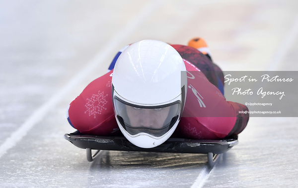 Alexander Henning Hanssen _NOR). Skeleton training. Alpensia sliding centrePyeongchang2018 winter Olympics. Alpensia. Republic of Korea. 13/02/2018. ~ MANDATORY CREDIT Garry Bowden/SIPPA - NO UNAUTHORISED USE - +44 7837 394578