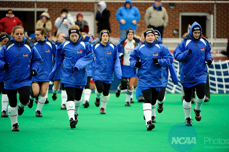 02 DEC 2010:  The University of Massachusetts-Lowell takes on Stonehill College at Trager Stadium on the University of Louisville campus during the NCAA Division II National Championships Fall Festival in Louisville, KY.  Joshua Duplechian/NCAA Photos