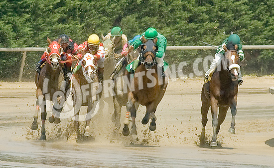 Song of Stars winning at Delaware Park on 6/28/11