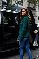 NOVA YORK,USA, 22.10.2018 - CELEBRIDADE-EUA - Modelo brasileira Gisele Bündchen é vista em Nova York nos Estados Unidos nesta segunda-feira, 22. (Foto: Vanessa Carvalho/Brazil Photo Press)