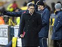 02/02/2008    Copyright Pic: James Stewart.File Name : sct_jspa08_livingston_v_partick_th.DESPAIR ON THE PARTICK BENCH AS IAN MCCALL CAN'T BEAR TO WATCH...James Stewart Photo Agency 19 Carronlea Drive, Falkirk. FK2 8DN      Vat Reg No. 607 6932 25.Studio      : +44 (0)1324 611191 .Mobile      : +44 (0)7721 416997.E-mail  :  jim@jspa.co.uk.If you require further information then contact Jim Stewart on any of the numbers above........