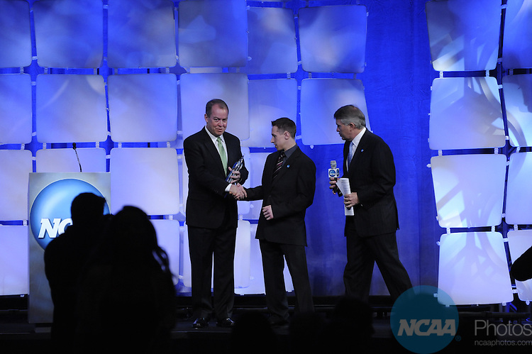 15 JAN 2010: Jeff Lerg during the Honors Celebration at the 2010 NCAA Convention held at the Marriott Marquis and the Hyatt Regency in Atlanta, GA. Brett Wilhelm/NCAA Photos.