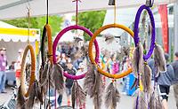 Dreamcatchers, Northwest Folklife Festival 2016, Seattle Center, Washington, USA.