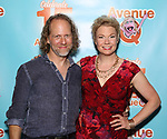 Peter Linz and Jennifer Barnhart attends the 'Avenue Q' - 15th Anniversary Performance Celebration at Novotel on July 31, 2018 in New York City.