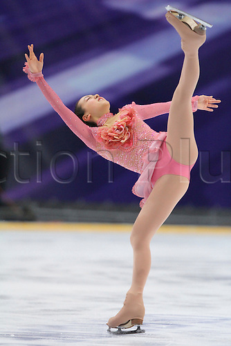 Mao Asada (JPN), OCTOBER 23, 2009 - Figure Skating : ISU Grand Prix of Figure Skating 2009/2010, 2009 Rostelecom Cup of Russia Women's Short Program at Sports Palace Megasport, Moscow, Russia. Photo by Akihiro Sugimoto/actionplus. UK Licenses Only.