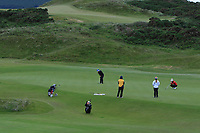 Angelica Moresco (ITA) on the 1st green during Round 2 of the Women's Amateur Championship at Royal County Down Golf Club in Newcastle Co. Down on Wednesday 12th June 2019.<br /> Picture:  Thos Caffrey / www.golffile.ie