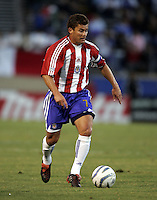 10 September 2005:  Ramon Ramirez of the CD Chivas USA in action against the Earthquakes at Spartan Stadium in San Jose, California.    San Jose Earthquakes defeated CD Chivas USA, 3-0.