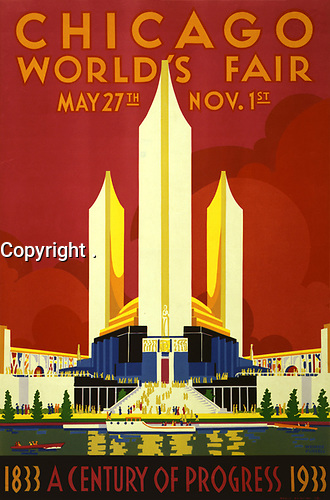 1933 chicago world Fair poster