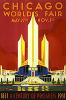 1933 chicago world Fair poster