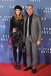 Sandra Ibarra and Juan Ramon Lucas attend `La verdad duele´ (Concussion) film premiere at Callao cinema in Madrid, Spain. January 27, 2015. (ALTERPHOTOS/Victor Blanco)