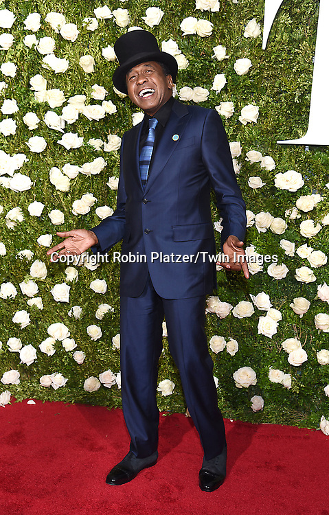 Ben Vereen attends the 71st Annual  Tony Awards on June 11, 2017 at Radio City Music Hall in New York, New York, USA.<br /> <br /> photo by Robin Platzer/Twin Images<br />  <br /> phone number 212-935-0770