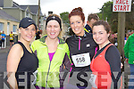 Kerry Lynch Castleisland, Catriona McGuire, Maeve Rogers and Roisin Daly Currow who ran in the Lee Strand/An Riocht 10k in Castleisland on Sunday