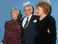 Joyce Randolph, Art Carney, Audrey Meadows, 1991, Photo By Michael Ferguson/PHOTOlink