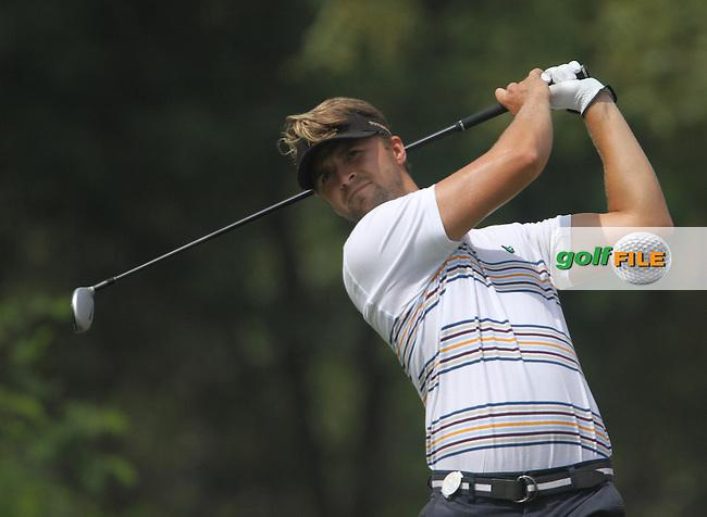 Rikard Karlberg (SWE) on the 6th during Round 3 of the 2013 Avantha Masters, Jaypee Greens Golf Club, Greater Noida, Delhi, 16/3/13..(Photo Jenny Matthews/www.golffile.ie)