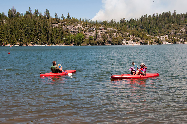 Pinecrest Lake, Watersports, Pinecrest, California, USA.  Photo copyright Lee Foster.  Photo # california121481