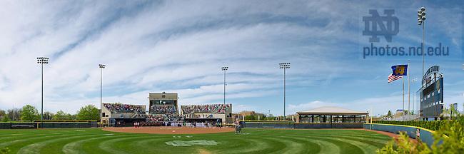 May 5, 2013 Melissa Cook Softball Stadium..Photo by Matt Cashore/University of Notre Dame