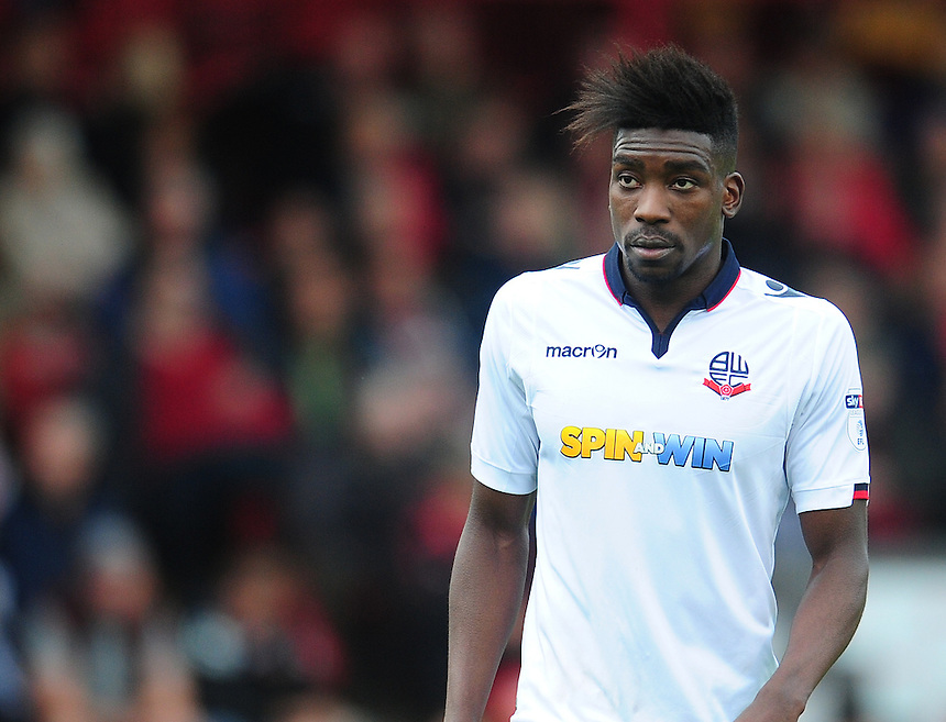Bolton Wanderers' Sammy Ameobi<br /> <br /> Photographer Kevin Barnes/CameraSport<br /> <br /> The EFL Sky Bet League One - Walsall v Bolton Wanderers - Saturday 17th September 2016 - Banks's Stadium - Walsall<br /> <br /> World Copyright &copy; 2016 CameraSport. All rights reserved. 43 Linden Ave. Countesthorpe. Leicester. England. LE8 5PG - Tel: +44 (0) 116 277 4147 - admin@camerasport.com - www.camerasport.com