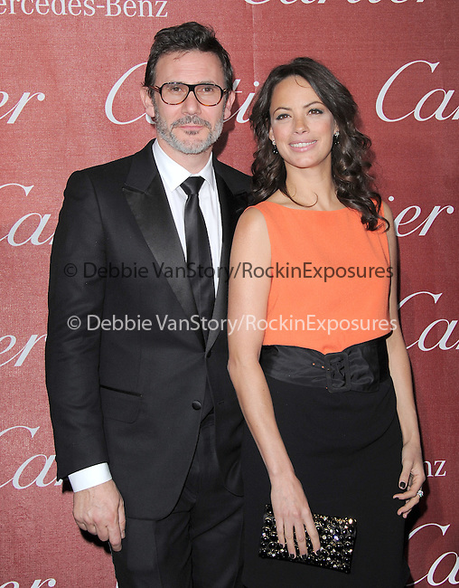 Berenice Bejo and  Michel Hazanavicius attends the 2012 Palm Springs International Film Festival Awards Gala held at The Palm Springs Convention Center in Palm Springs, California on January 07,2012                                                                               © 2012 Hollywood Press Agency