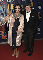 """LOS ANGELES - JANUARY 22:  Stacy Keach at the opening night of """"The Last Ship"""" on January 22, 2020 at the Ahmanson Theatre in Los Angeles, California. (Photo by Scott Kirkland/PictureGroup)"""