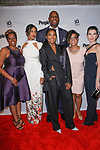 (Front left to right) Chacrice Miles, Padma Lakshmi, Gabrielle Union, Vanessa Russell, Julianna Marguilies, and Alonzo Mourning (back) arrive at the 2017 INSPIRE A DIFFERENCE honors event by Investigation Discovery and PEOPLE, at the Dream Hotel Downtown, on November 2, 2017.