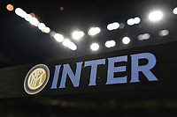 A stripe with writing Inter <br /> Milano 6-10-2019 Stadio Giuseppe Meazza <br /> Football Serie A 2019/2020 <br /> FC Internazionale - Juventus FC <br /> Photo Andrea Staccioli / Insidefoto